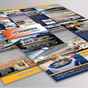 All Seasons Houseboats Mildura brochure