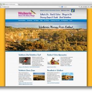 Waikerie.com website in the Riverland, South Australia