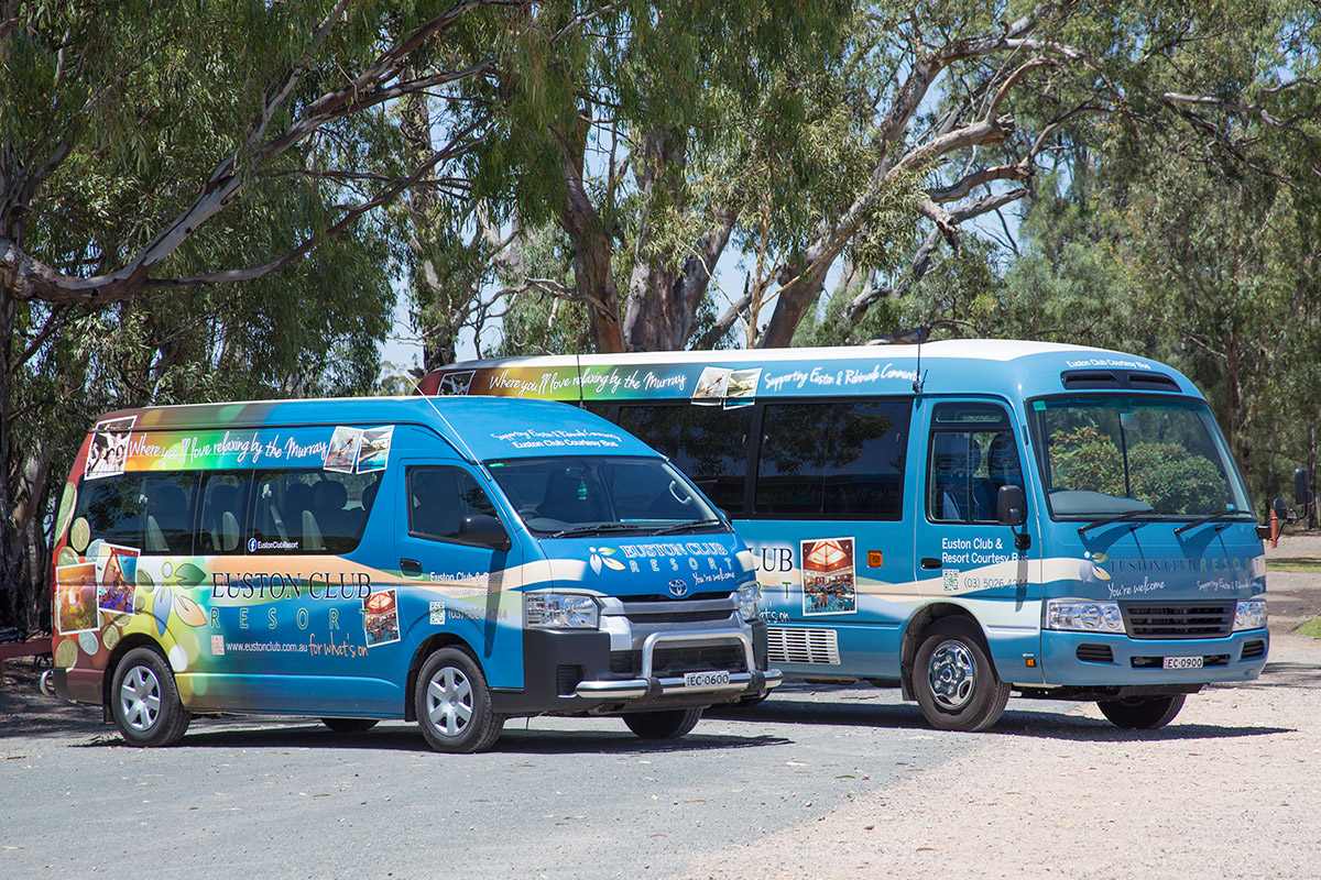 Euston Club Resort Shuttle buses
