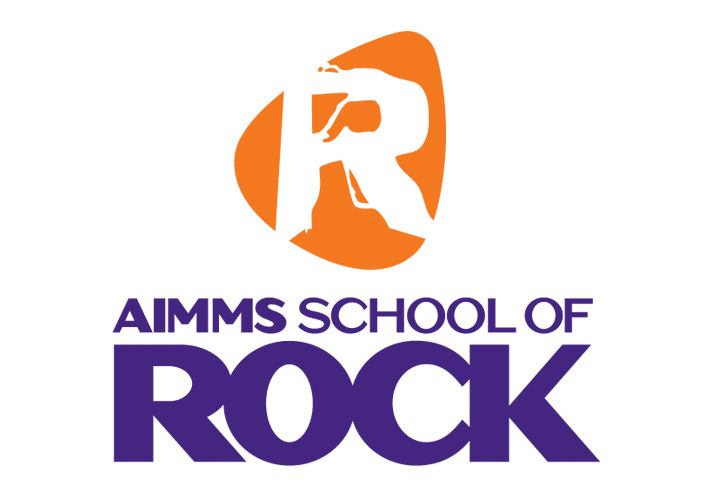 AIMMS School of Rock logo