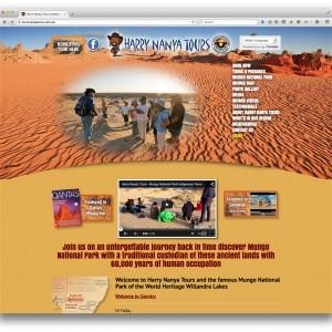 Harry Nanya Tours - Mungo National Park website