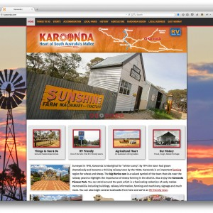 Karoonda in the Heart of the Mallee website