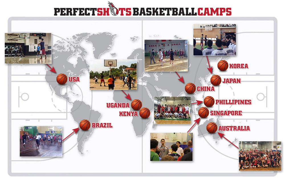 Perfect Shots Basketball World Map