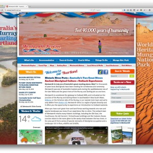 Visit Wentworth website homepage