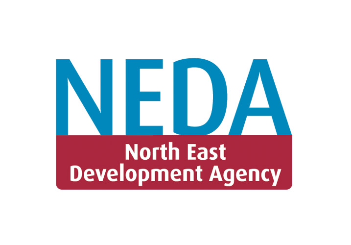NEDA logo (North East Development Agency)