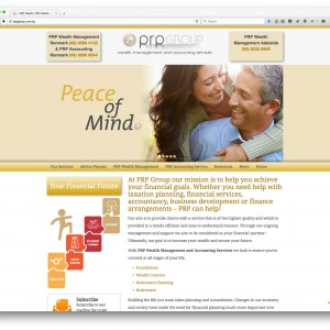 PRP Group website