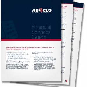 ABACUS Financial Services Guide