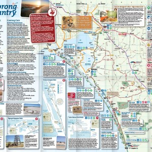 Coorong Country tourist map