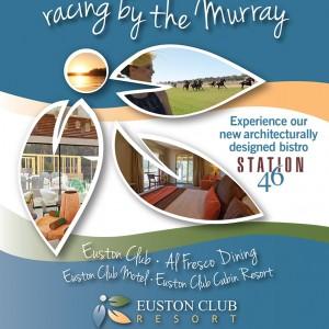 Euston Club Resort A5 Racing Ad