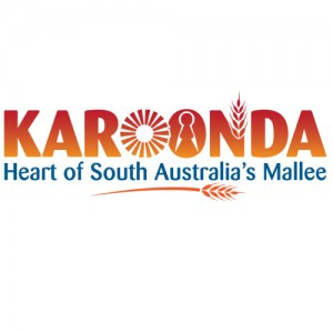 Karoonda Heart of the Mallee logo design
