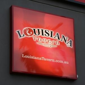 Louisiana Tavern signage