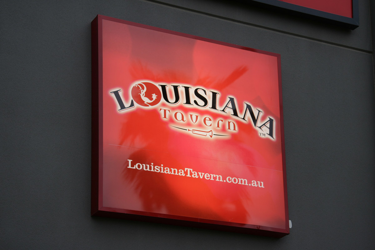 Louisiana Tavern signage