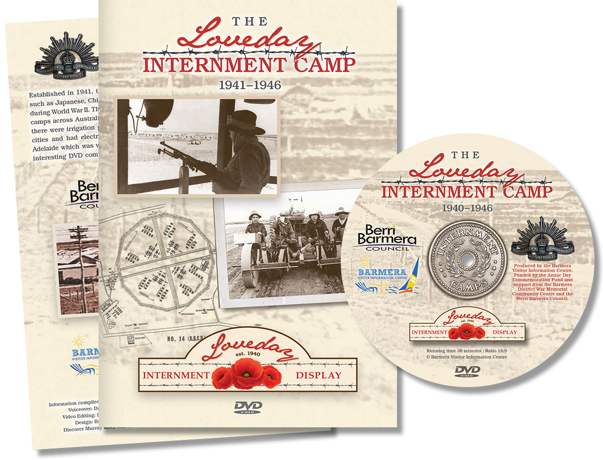 Loveday Internment Camp DVD
