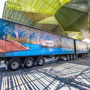 Mildura Tourism truck photography