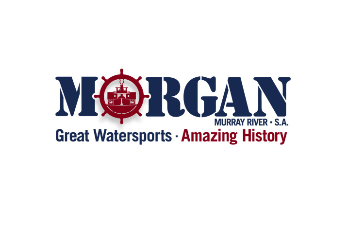 Morgan, Murray River Tourism logo