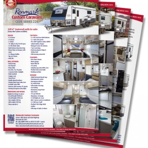 Renmark Custom Caravans fact sheets