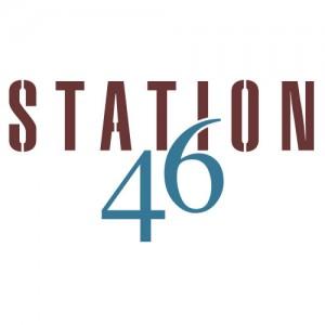 Station46 logo design
