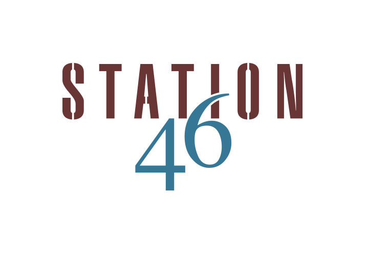 Station46 logo design