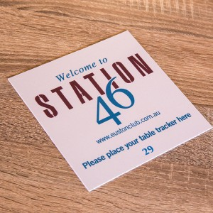 Station46 Table Tracker Labels