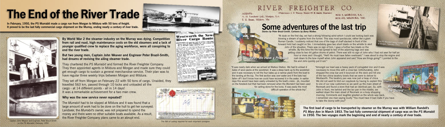End of the River Trade, Mannum Dock Museum, Discover Murray River, Brand Action