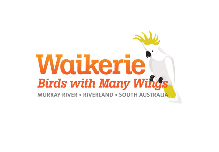 Waikerie Birds with many wings logo