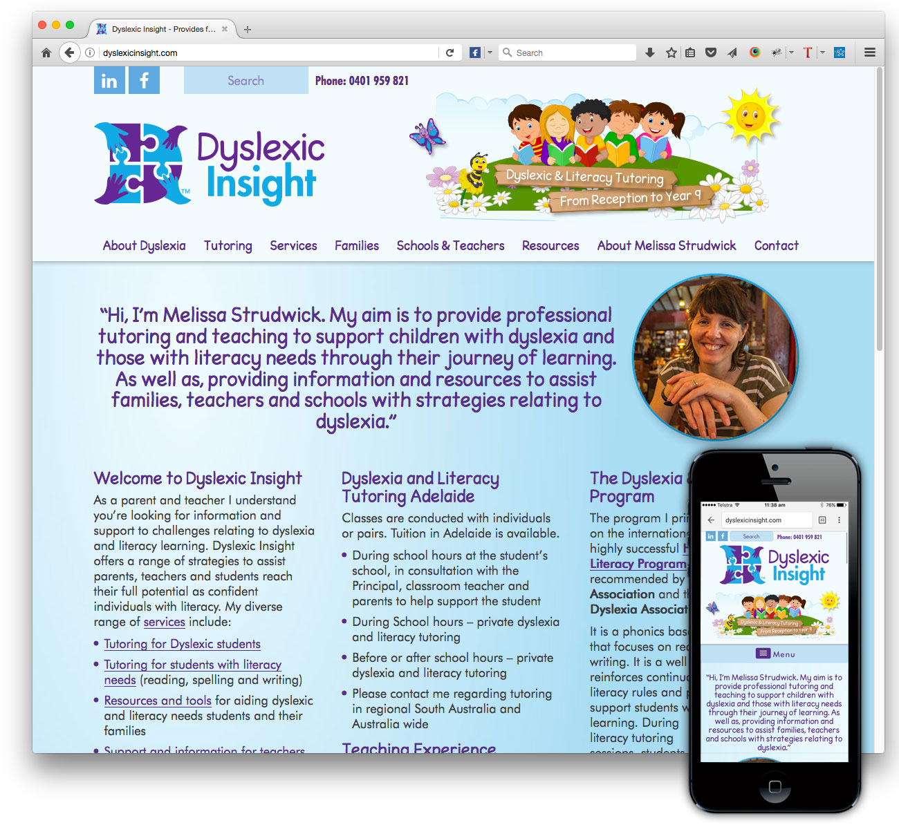 Dyslexic Insight website
