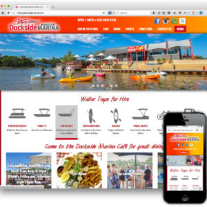 Dockside Mildura Marina website